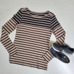 J. Crew Tops - J. Crew long sleeved cotton tee shirt medium